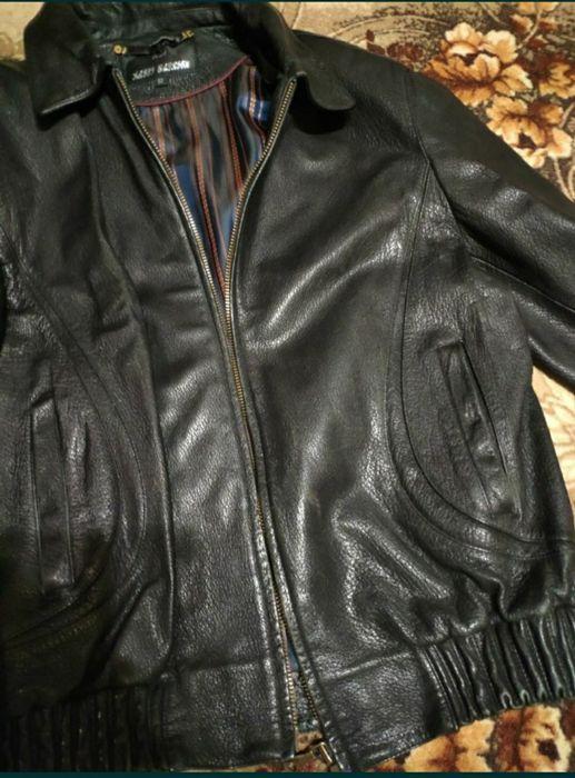 Кожаная куртка, куртка демисезонная, кожанка, ветровка,осенняя куртка Чернигов - изображение 1