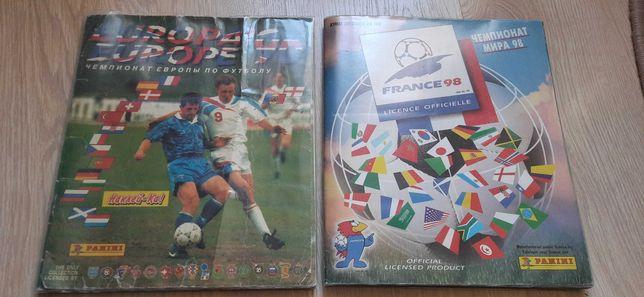 Наклейки Панини Panini euro96 че1996 евро96 чм98 чемпионат мира 1998