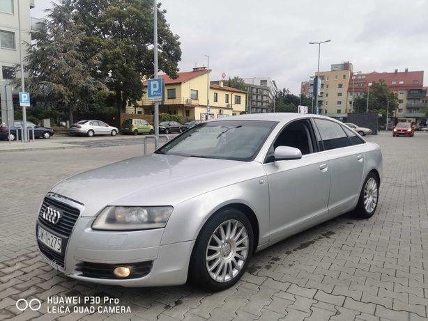 Audi A6 3.2 + LPG GAZ Quatro Skóry Xenon NAVI Sedan Zarejestrowany