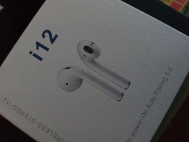 Słuchawki bezprzewodowe douszne i12