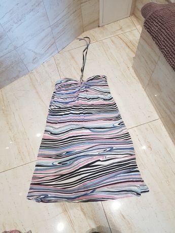 sukienka dwukolorowa rozmiar uniwersalny