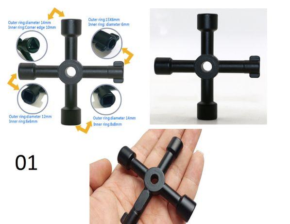 Chave especial para quadros eletricos contador agua, entre outros