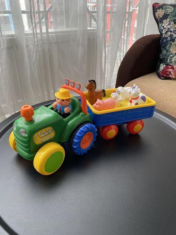 Трактор с прицепом (озвучен по-русски) Kiddieland