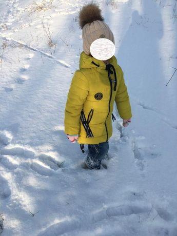Куртка-пальто зима+подарок