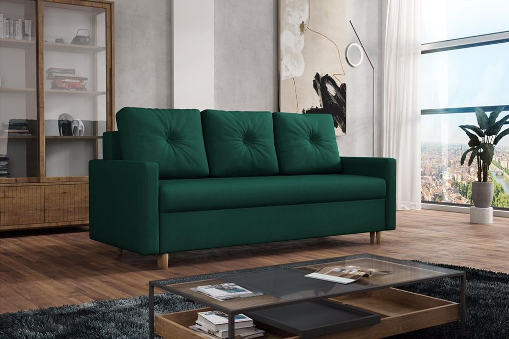 Kanapa Skandynawska. Wersalka, łóżko, sofa. Automat, funkcja spania! Katowice - image 1