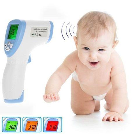 Электронный бесконтактный градусник для детей и взрослых
