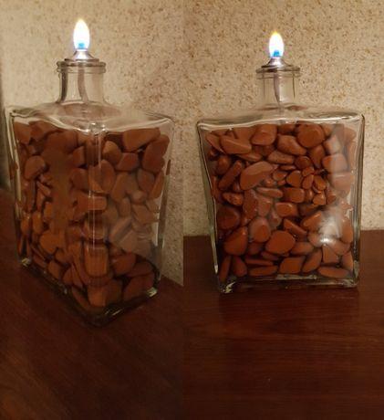 Lampka naftowa, ozdoba, lampa