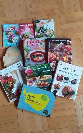 Książki kucharskie, poradniki + gratisy kuchni Lidla