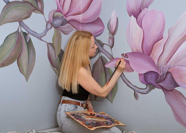 Роспись стен на заказ Черновцы и область