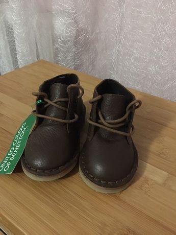 Шкіряні черевики нові 21 р