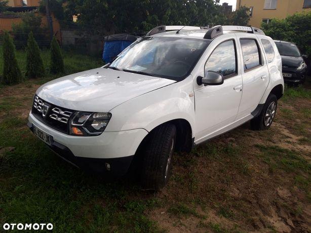 Dacia Duster lift 17 rok benzyna navi klima alufelgi uszkodzony po opłatach