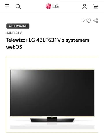 Telewizor LG 43 cale