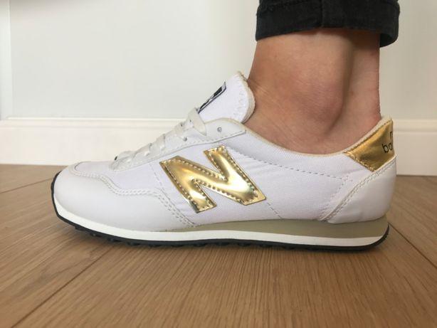 New Balance 410. Rozmiar 37. Białe - Złote. ZAMÓW! NOWE!