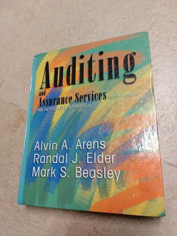 """Livro """"Auditing and Assurance Services"""""""