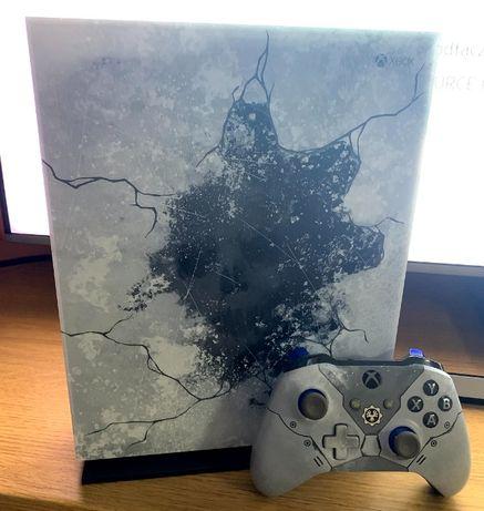 Konsola Xbox One X | Gry w 4K, świetny stan! Edycja Gears of War
