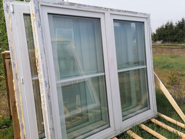 Okno PCV 180 x 170 używane duża ilość