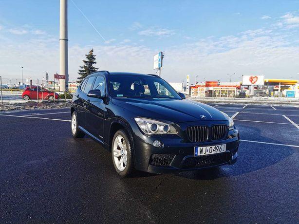 BMW X1 xdrive 2.0i benzyna mpakiet full navi zadbany mały przebieg