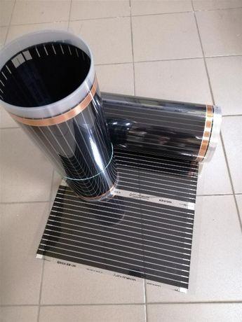 Інфрачервона плівка In-Therm 220 Вт/м2. Тепла підлога під ламінат
