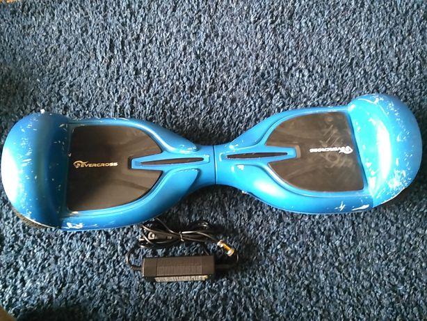 """Deskorolka elektryczna EVERCROSS Q3 Diablo Blue jeździk bluetooth 6,5"""""""