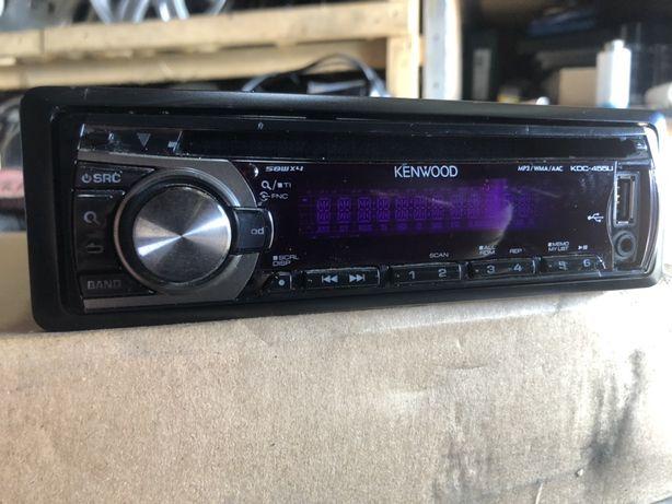 Aвтомагнитола, магнитофон kenwood cd, aux, usb