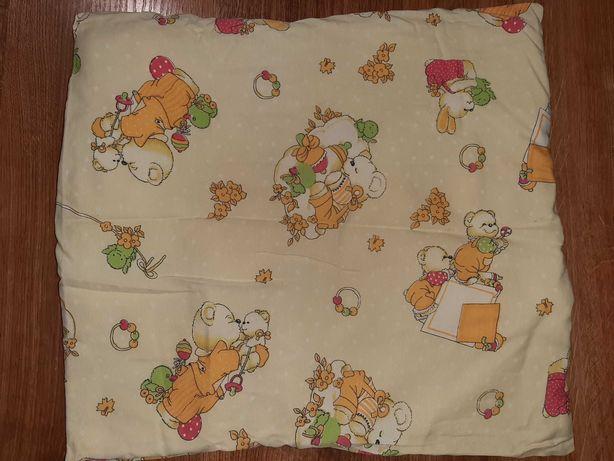 Балдахин на манеж, подушка, одеяло