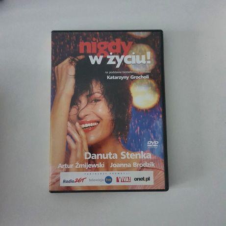 Nigdy w życiu * film DVD * Grochola Stenka Żmijewski Brodzik * komedia