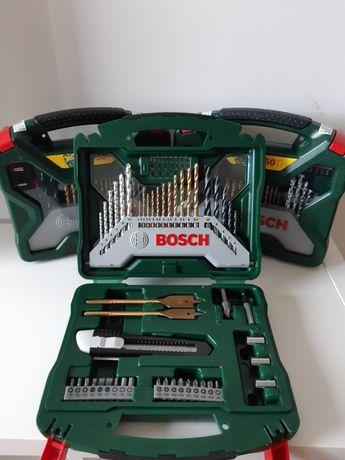 Mala Ferramentas Bosch X-Line / 50 Peças Perfurar e Aparafusar (NOVO)