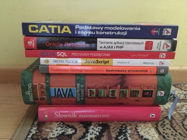 Książki dla informatyka programowanie Java Script PHP SQL Oracle Catia