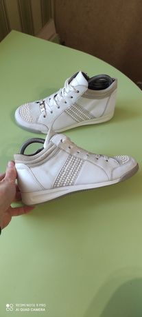 Ботинки кроссовки демисезонные Ara original 36p. 23см натуральная кожа