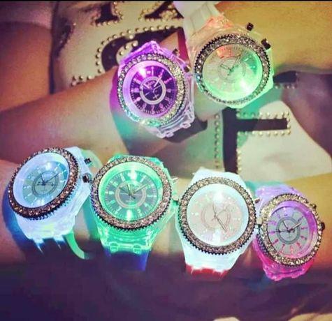 Relógios Led rosa