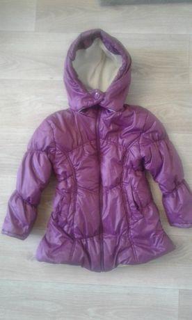 Тёплая деми куртка bombili на девочку 6-7 лет турция 290 грн