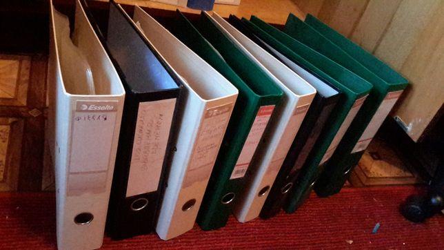 Папки оффисные регистраторы