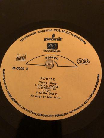 Porter china disco płyta winylowa