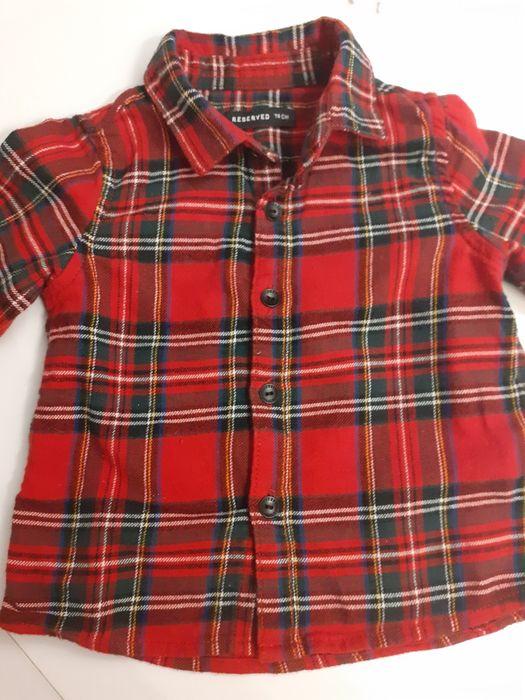 Koszula w kratkę reserved 74 Konin - image 1