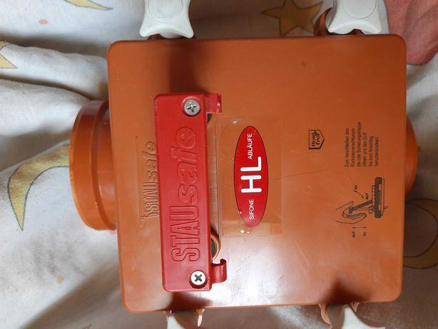 Канализационный затвор HL710.1 с автоматической заслонкой. Германия.