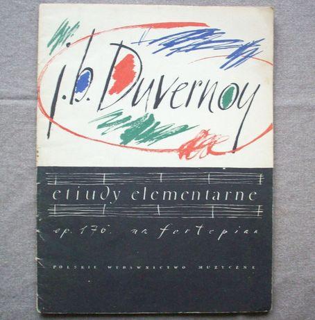 Etiudy elementarne na fortepian, Jean-B Duvernoy, PWM 1964.