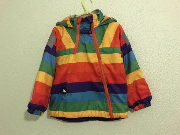 Casaco arco-íris 4-5 anos