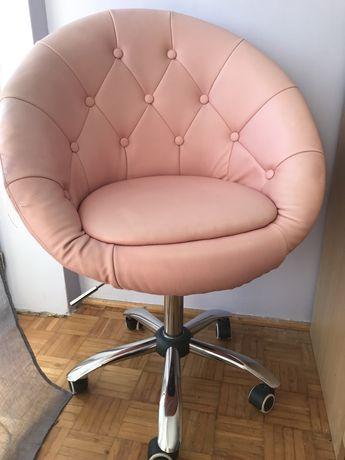 Fotel/krzesło biurowe obrotowe dziewczęce