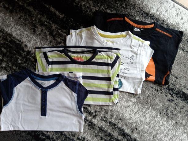 bluzki na długi rękaw dla chłopca 110/116