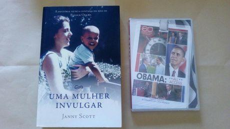 Saldos 20% -Livro Uma Mulher Invulgar: mãe de Barack Obama +Oferta DVD