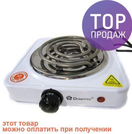 Новая Электроплита плита Domotec электрическая печь , 1000 Вт