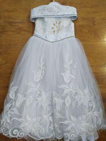 Праздничное платье для маленькой принцессы!