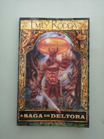 A Saga de Deltora - Emily Rodda Vol I, II e III com litografias