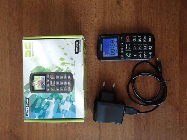 Telefon MaxCom MM428BB BOX ze wszystkim