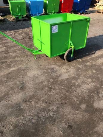 Wózek transportowy, wózek ogrodowy, kontener, pojemnik, koleba 1m3!
