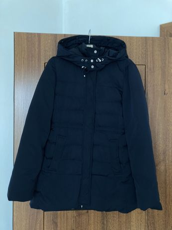 Пуховик натуральний куртка Zara