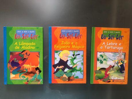 Livros infantis Eu Sei Ler