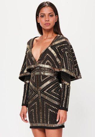 Шикарное платье-кимоно от Missguided