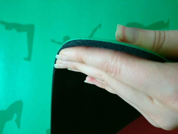 Yoga mat Зеленый коврик для йоги,фитнеса, йога мат каучуковый