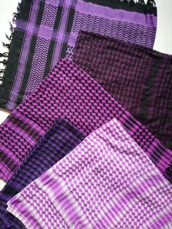Арафатка платок фіолетова